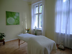 Behandlungsraum Massage Zehlendorf