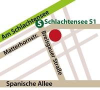 Anfahrt - Massage Zehlendorf